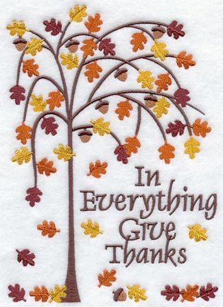 Machine Embroidery Designs at Embroidery Library Thanksgiving tree by embiliary