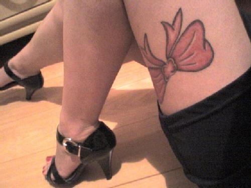 my bow tattoo <3