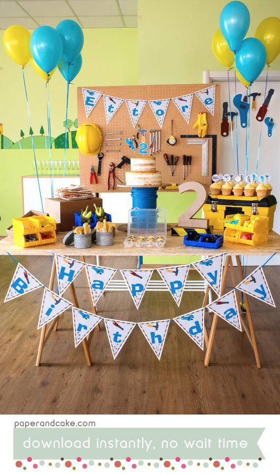 """Construction Birthday 