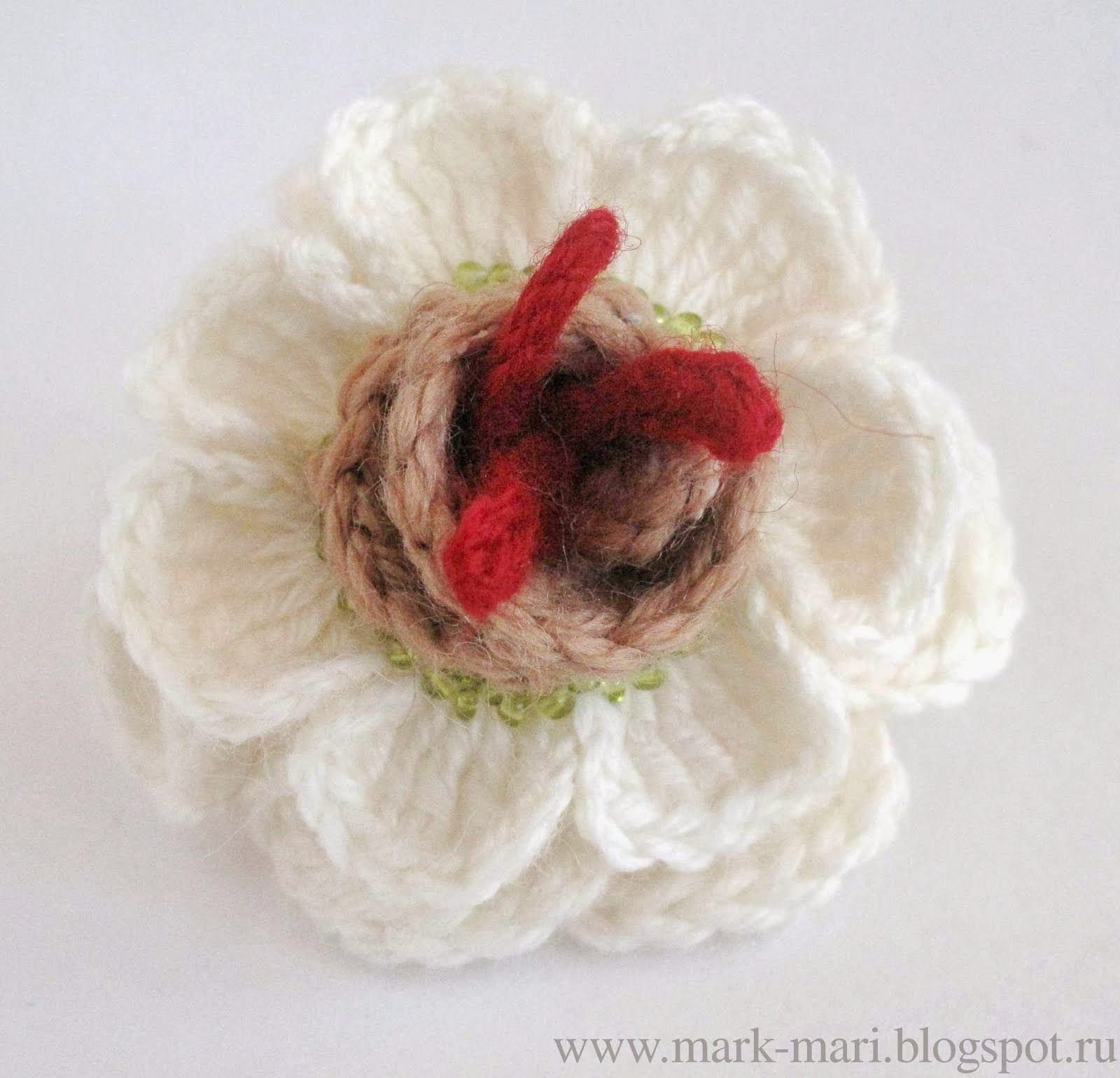 Crochet Flowers Birds Rose Flores Crochetflowers Pretty Flower Diagram With Diagrams