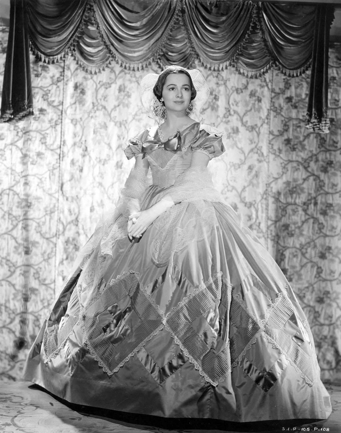 "Olivia de Havilland  ""Gone With the Wind"""