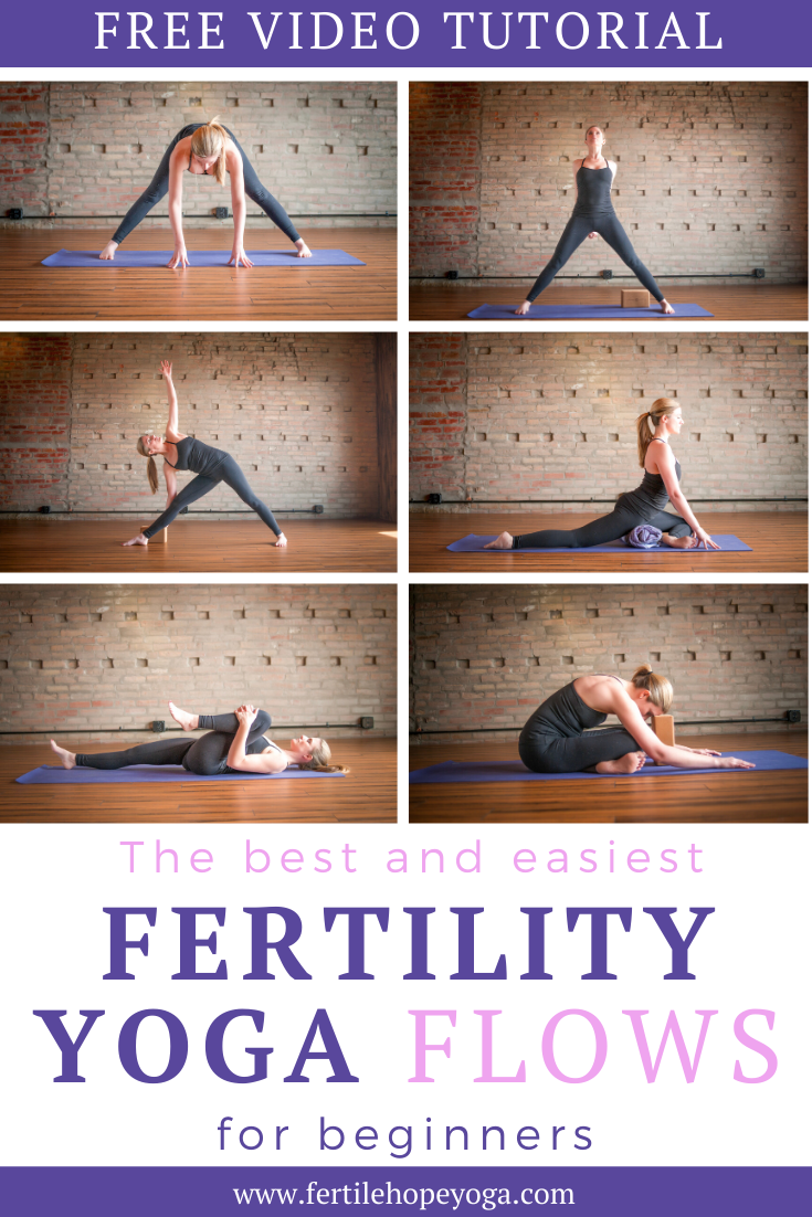 Fertility Routine To Get Pregnant Faster When Trying To Conceive Free Online Course For Beginners Fertility Yoga Yoga For Infertility Fertility Yoga Poses
