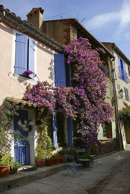 Grimaud - Provence, France