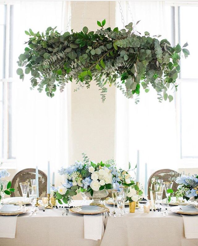 20 Amazing Hanging Greenery Floral Wedding Decorations For: Pin By Lauren Sailor On The Wedding