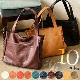 cd11aefac312 バッグ毎日の通勤、通学に使いやすさ抜群合皮多収納ポケットバッグレディース/フェイクレザー/トートバッグ