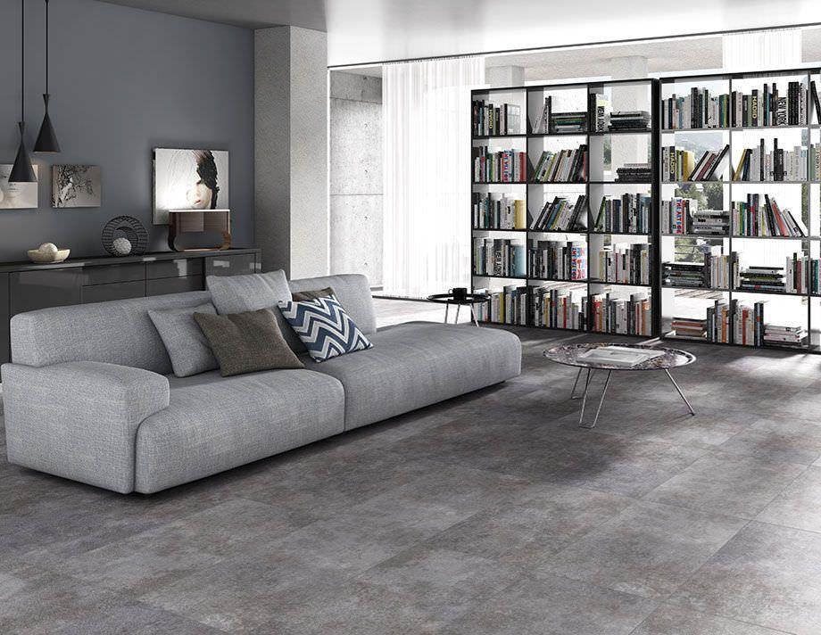 7 Ways To Add The Industrial Look Into Your Home Ceramica TileTile FloorGrey