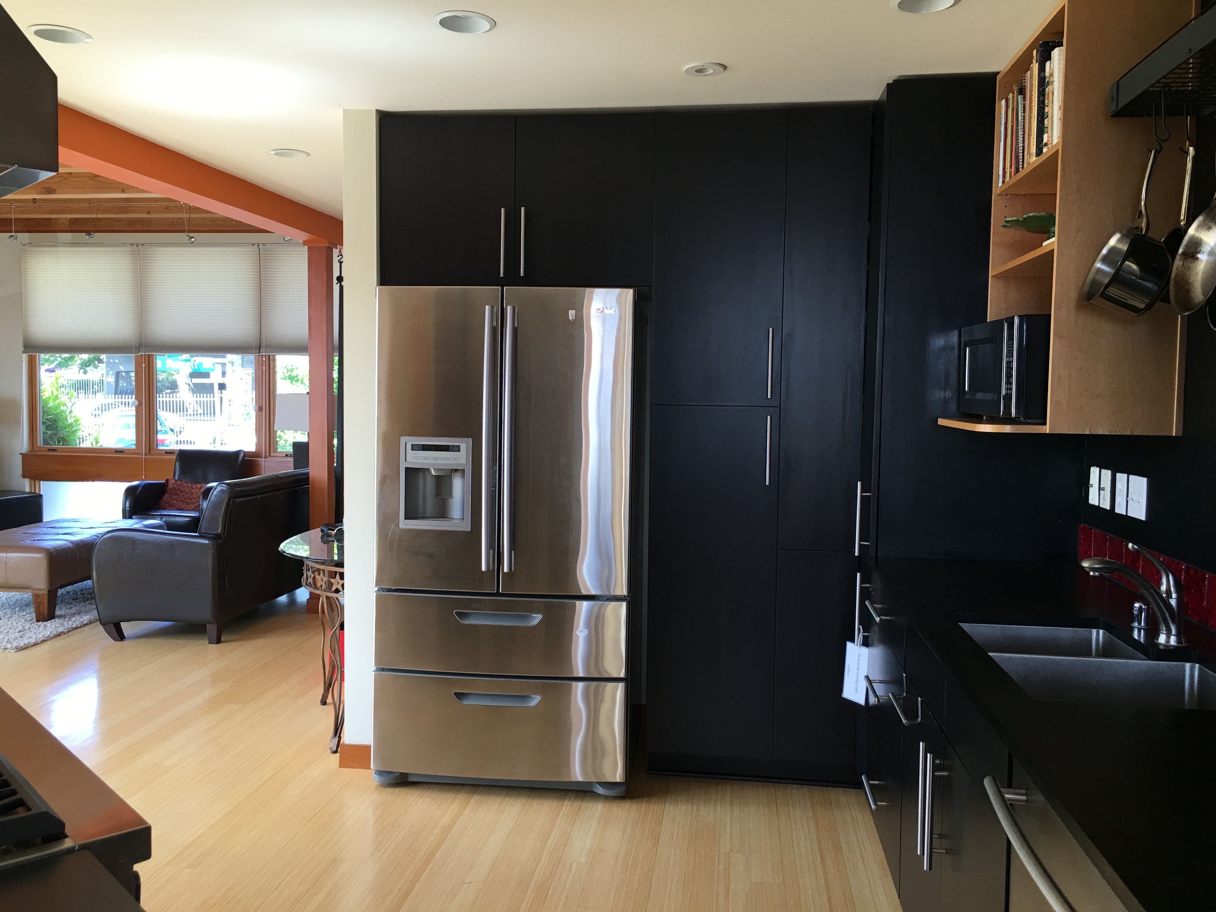 This LG french door refrigerator will be replaced by Gaggenau side ...