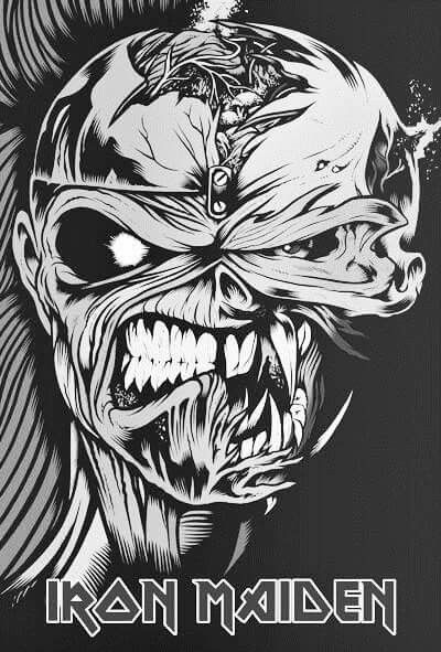 Pin By Nakosuke On Iron Man Iron Maiden Eddie Iron Maiden Mascot Heavy Metal Bands Art