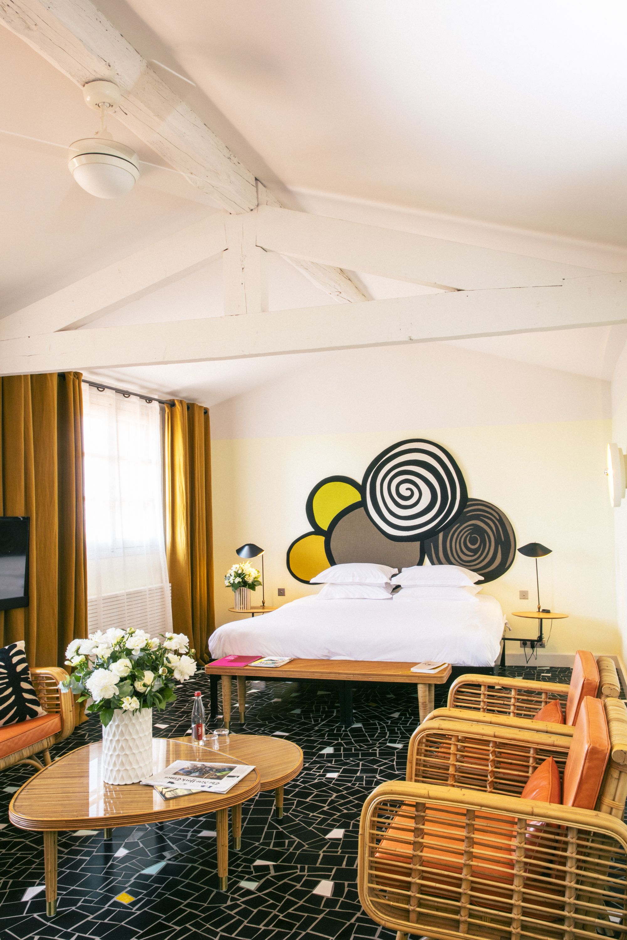 Our Rooms Are Spacious Luminous And Designed By India Mahdavi