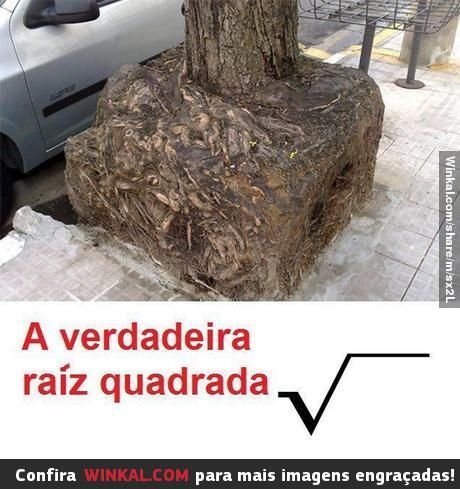 The true square root....