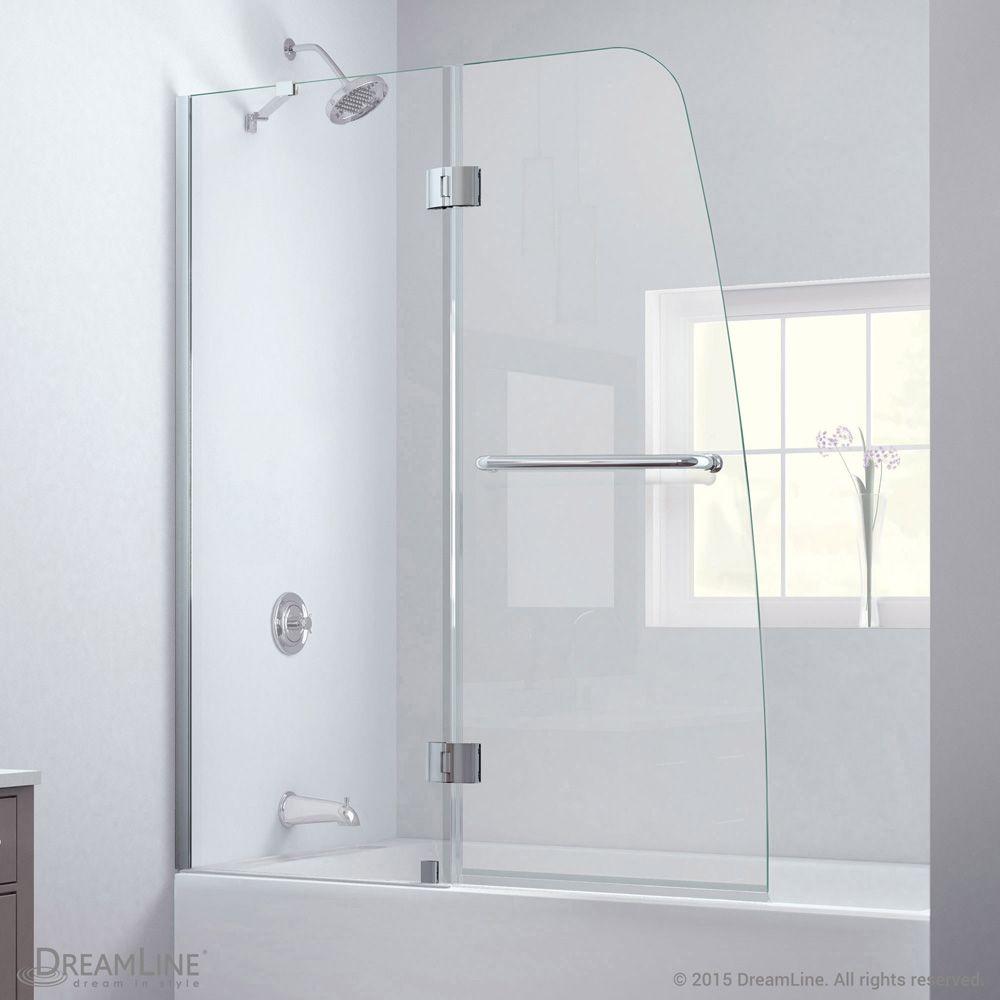 Bath Authority Dreamline Aqua Clear Glass Tub Door Tub Shower Doors Tub Doors Bathtub Doors
