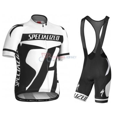 Specialized Cycling Jersey Kit Short Sleeve 2016 Black And White ... 46cacb9b8