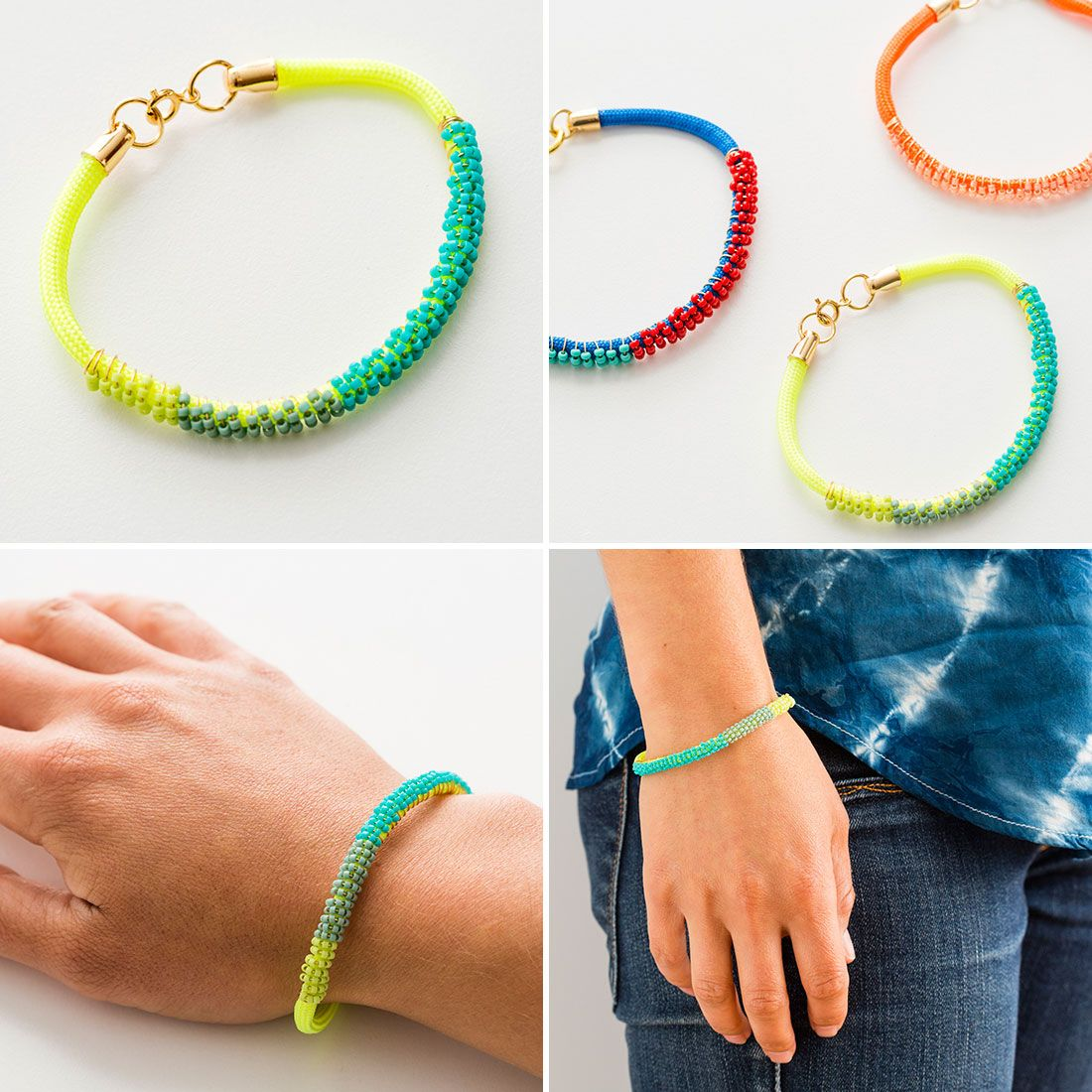 how to make beaded bracelets with seed beads
