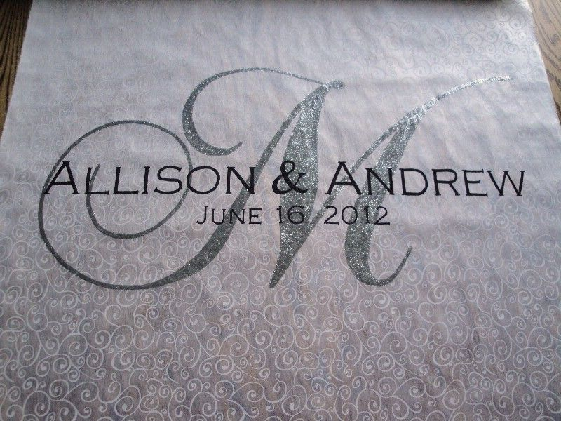 Find This Pin And More On A Wedding Is Day Marriage Forever Personalized Aisle Runner