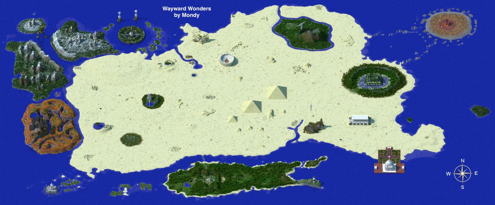 Wayward wonders 183 open world fight bosses in the wonders wayward wonders open world fight bosses in the wonders of the world also available on minecraft realms maps mapping and modding java edition gumiabroncs Image collections