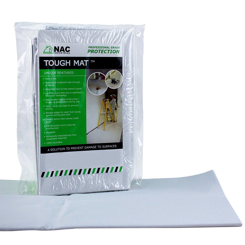 Nac Industrial Ntmp144 Professional Waterproof Hd Drop Cloth Tough Mat Unbelievable Item Right Here Home Diy Improv Canvas Drop Cloths Drop Cloth Tough