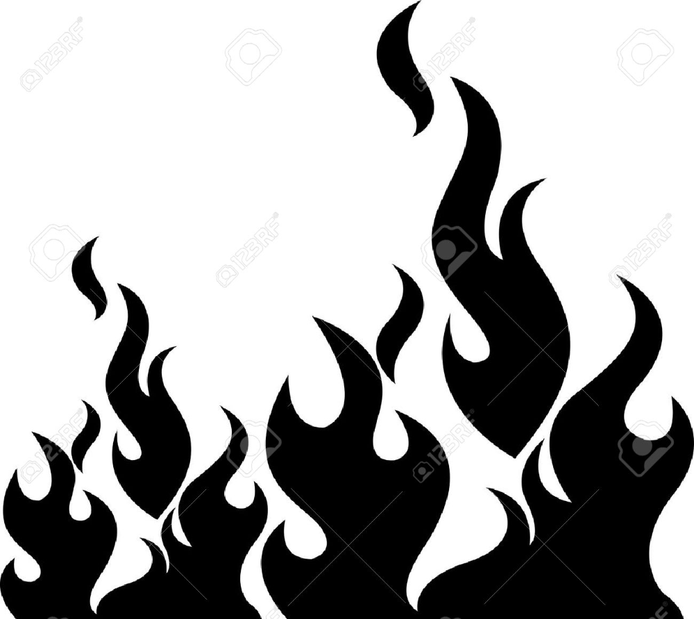 Illustration Art Of A Black Flame With Isolated Background Stock Vector 21869356 In 2021 Illustration Art Clip Art Fire Icons