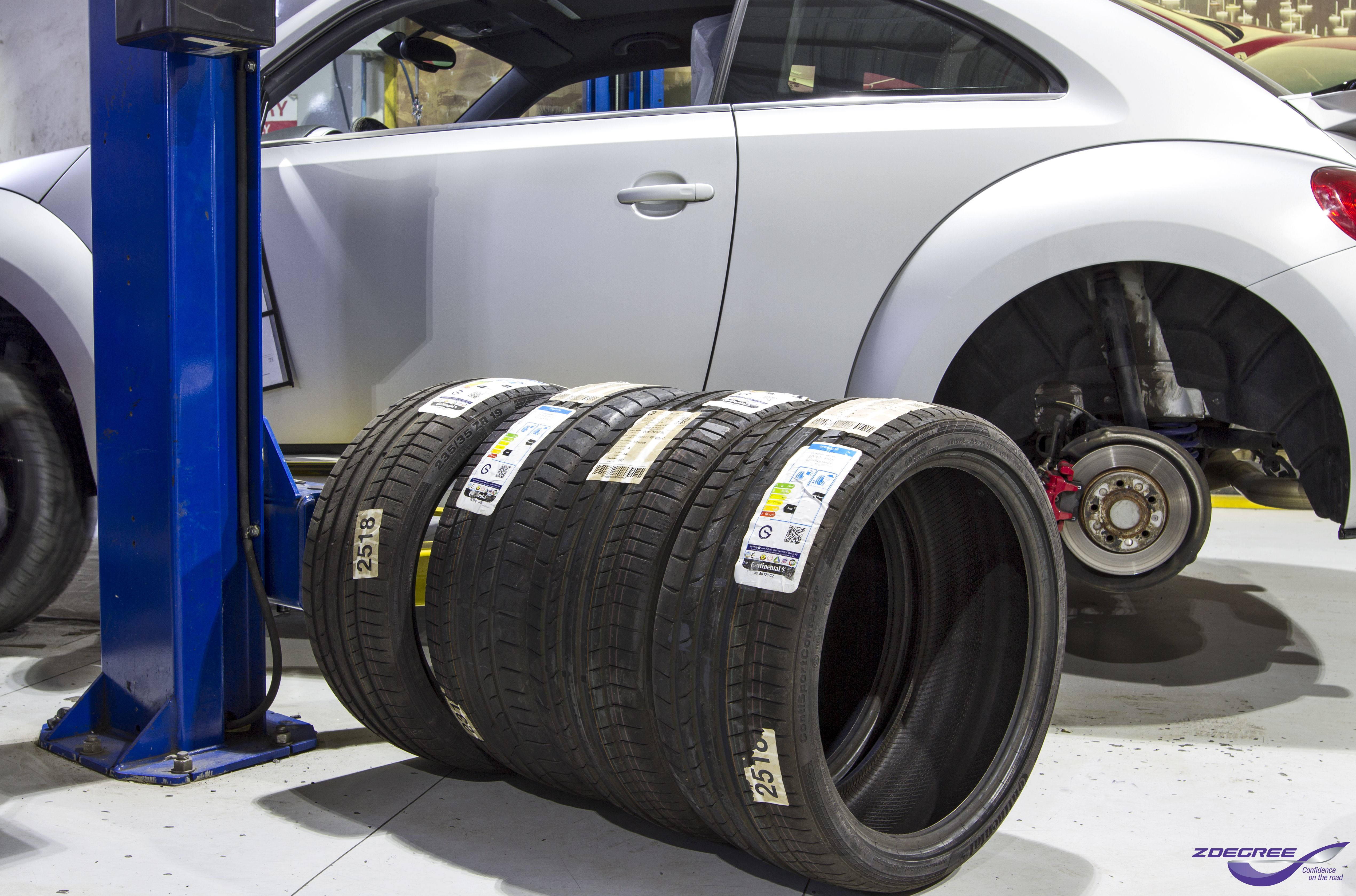 Vw Beetle In For New Tires Buy Tires Tyre Shop Auto Service