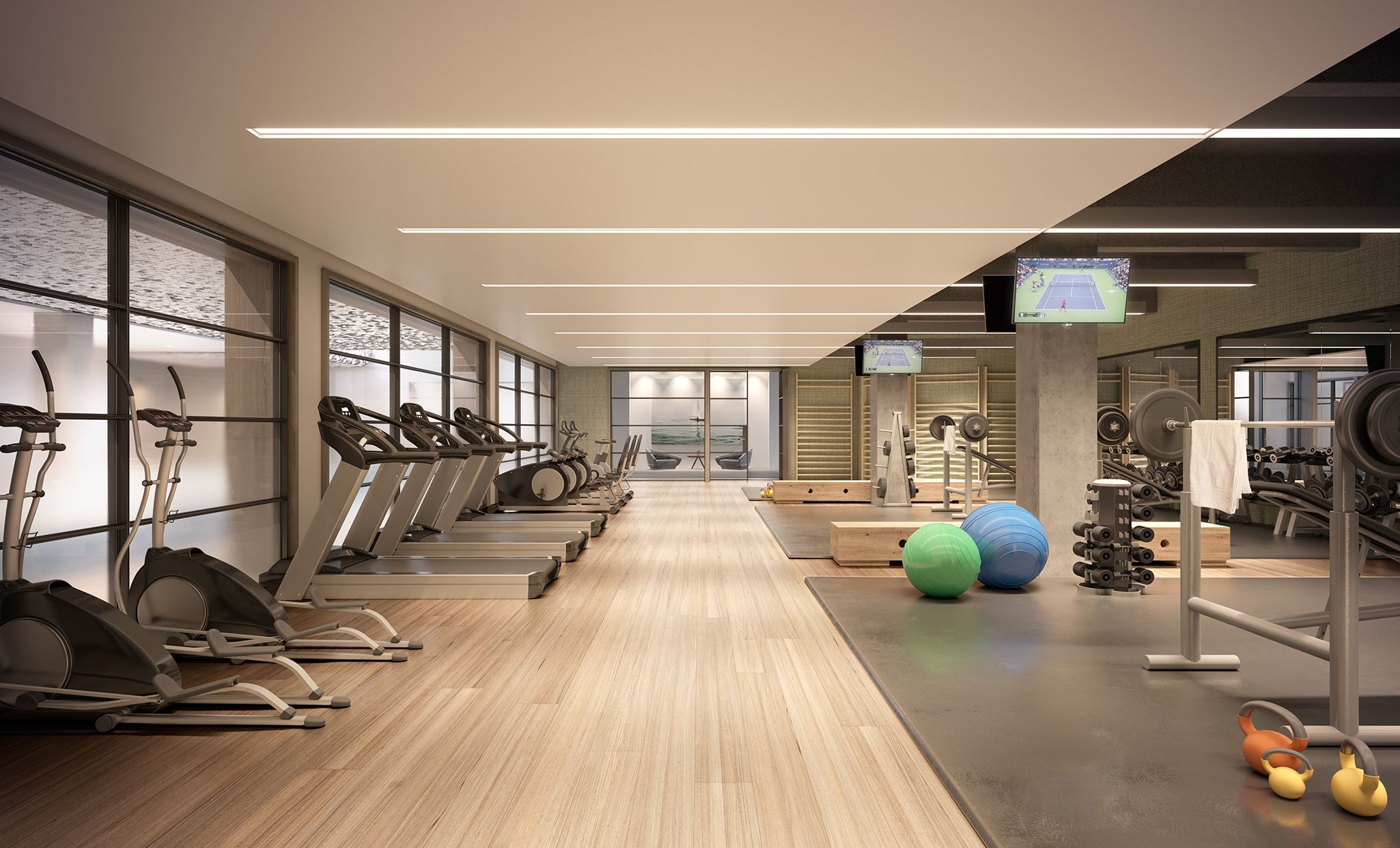 20 Amazing Home Gym Room Ideas For Your Family Trenduhome Gym Room At Home Gym Room Gym Design Interior