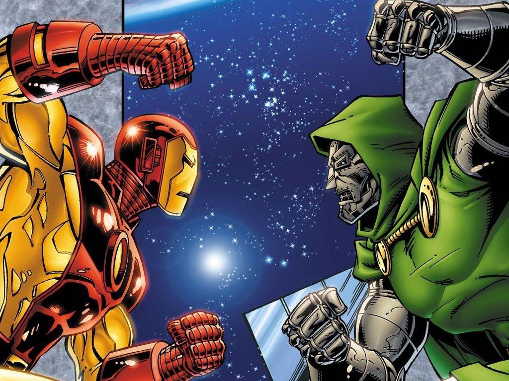 Iron Man (Tony Stark) vs Doctor Doom (Doctor Victor Von