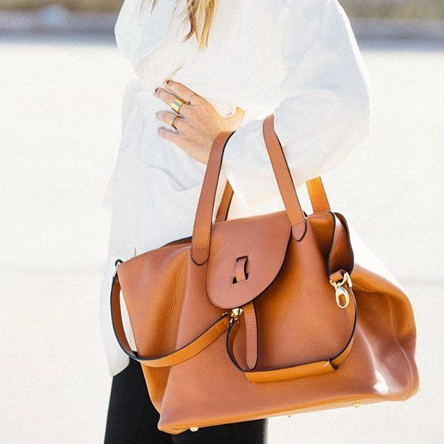91575ea159b4 Fancy - Thela Tan Tote Bag by meli melo