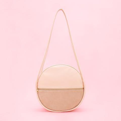 amigo circle bag - seashell