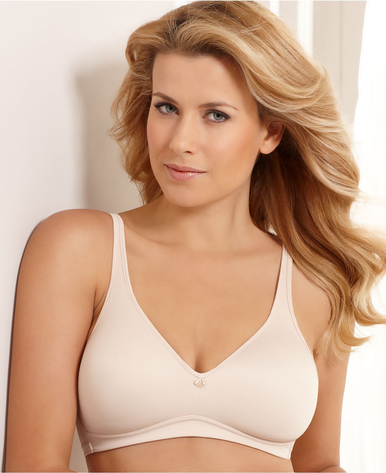 Bali Bra, Passion for Comfort Wireless Bra 3389 - Womens Plus Size ...