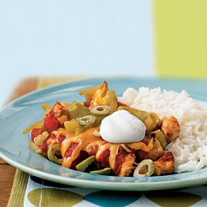 250-Calorie Main Dishes | Salsa Chicken | CookingLight.com