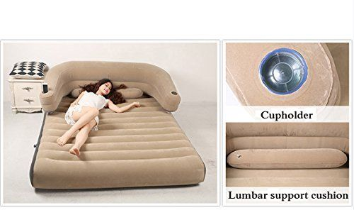 Sofa BedSleeper Sofa Air Mattress Bed Inflatable Portable Queen Size Comfortable Home Camping Sofa Inflatable Mattresses Airbeds