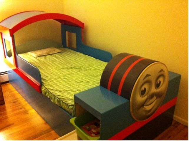 Building A Thomas Train Bed - Carpentry - DIY Chatroom Home ...