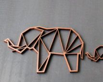 Wire fold elephant - Google 搜尋