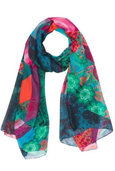 Pretty scarf from Desigual. Love the pattern    Must Have ... db0437fb3fc