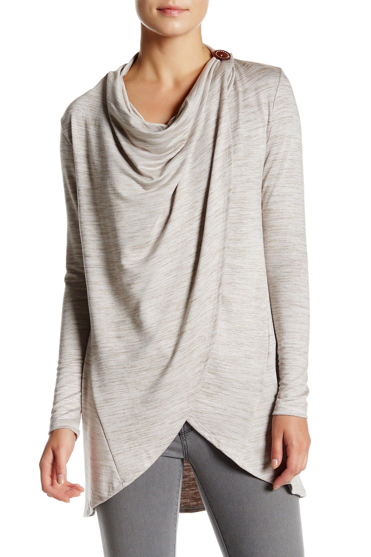 Bobeau | One-Button Wrap Cardigan | Wrap cardigan, Nordstrom and Wraps