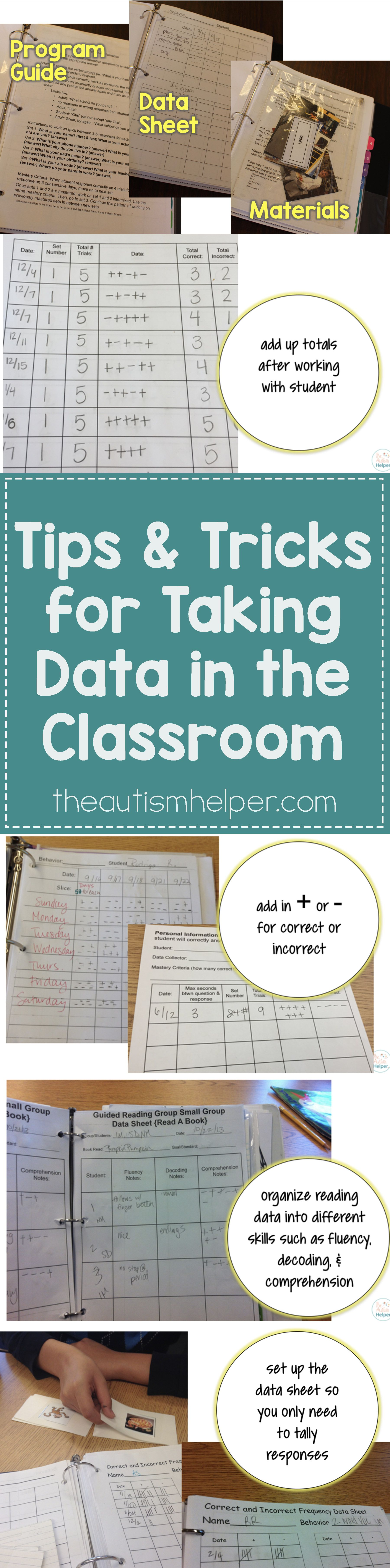 Taking Data In The Classroom Tips Amp Tricks