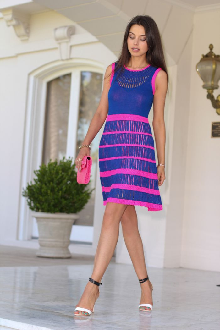 neon dress and clutch combo | ColorFul | Pinterest | Vestidos ...