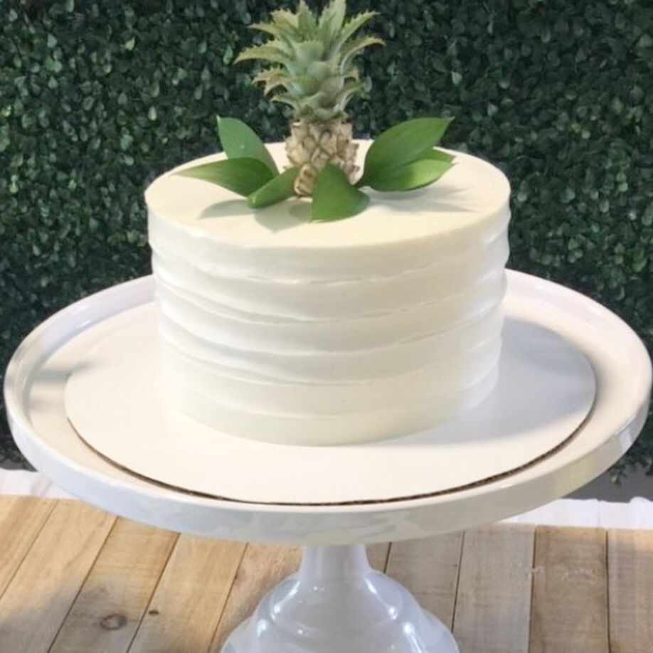 Baby shower cake roandali_event for the mini pineapple