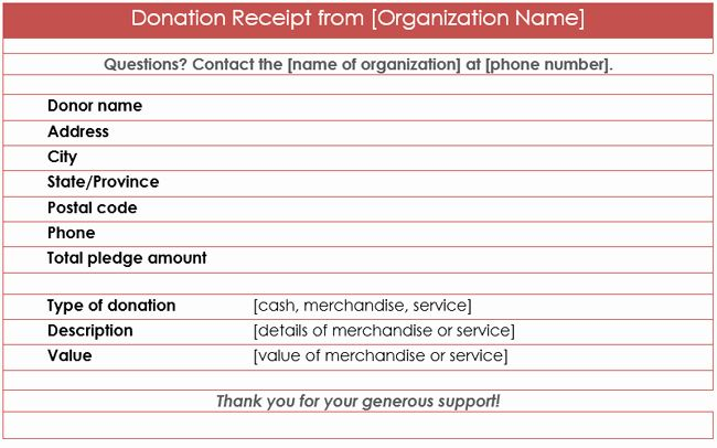 Donation Form Template Word Fresh Donation Receipt Template 12 Free Samples In Word And Excel Donation Letter Donation Letter Template This Or That Questions