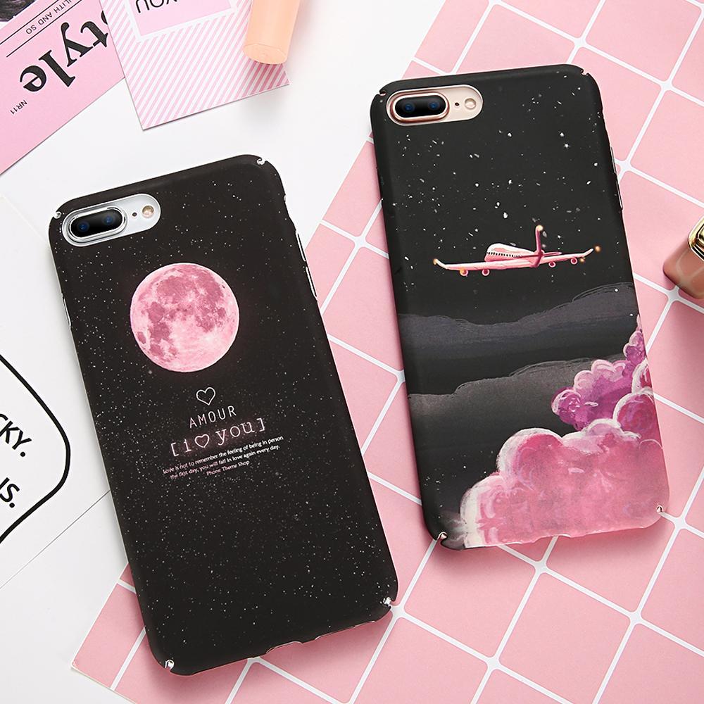 Cute Black And Pink Cases For Iphone X 8 7 6 5 Fundas Para Mejores Amigos Fundas Para Iphone Carcasas De Celulares