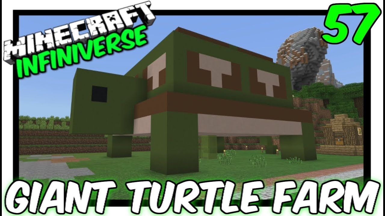 How To Make Pixel Art In Minecraft Bedrock Giant Turtle Scute Farm 57 Minecraft Bedrock Infiniverse Minecraft Farm Minecraft City Buildings Minecraft