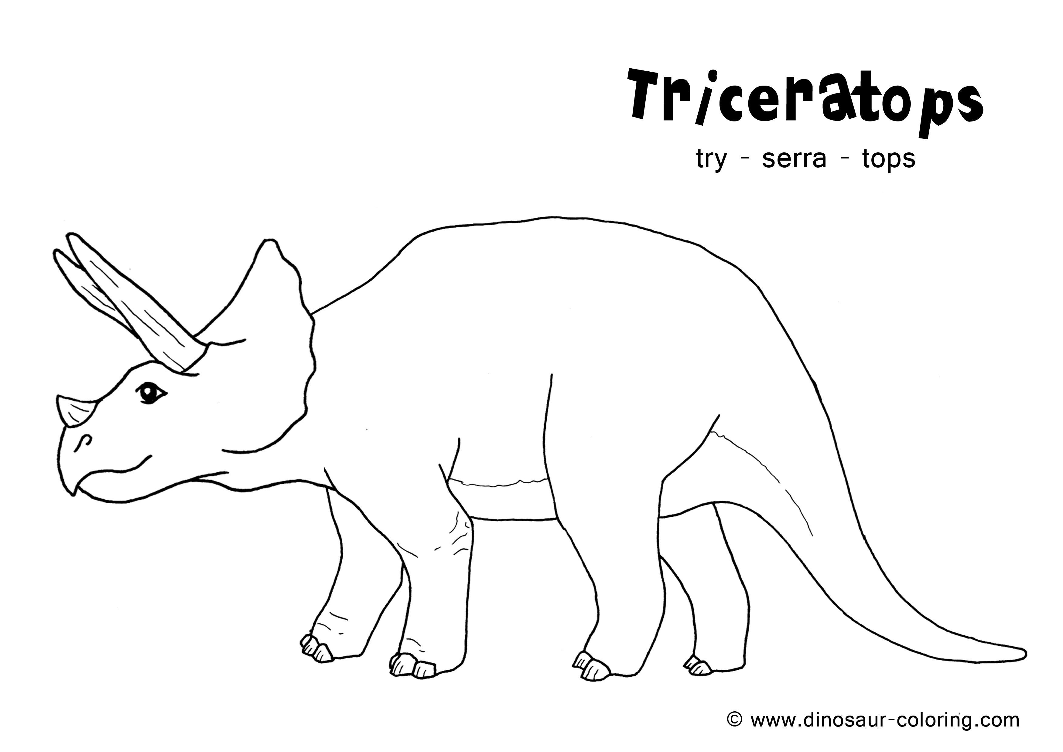 Clip Art Dinosaur Outline Coloring Pages 1000 images about daverende dinos kleurplaten on pinterest coloring dinosaur mask and crafts