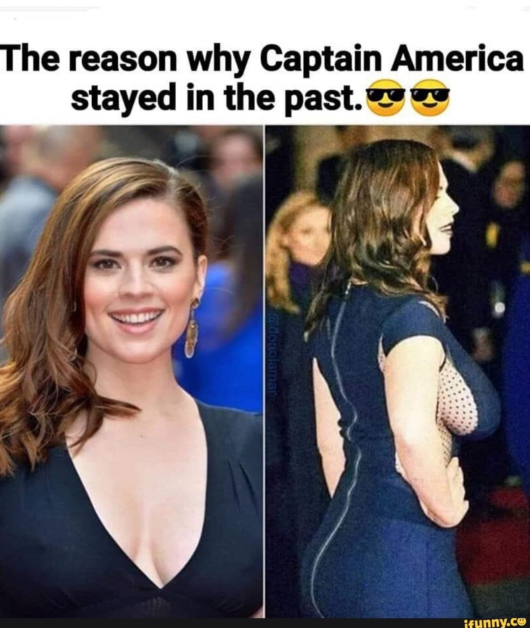 He Reason Why Captain America Stayed In The Past Ifunny