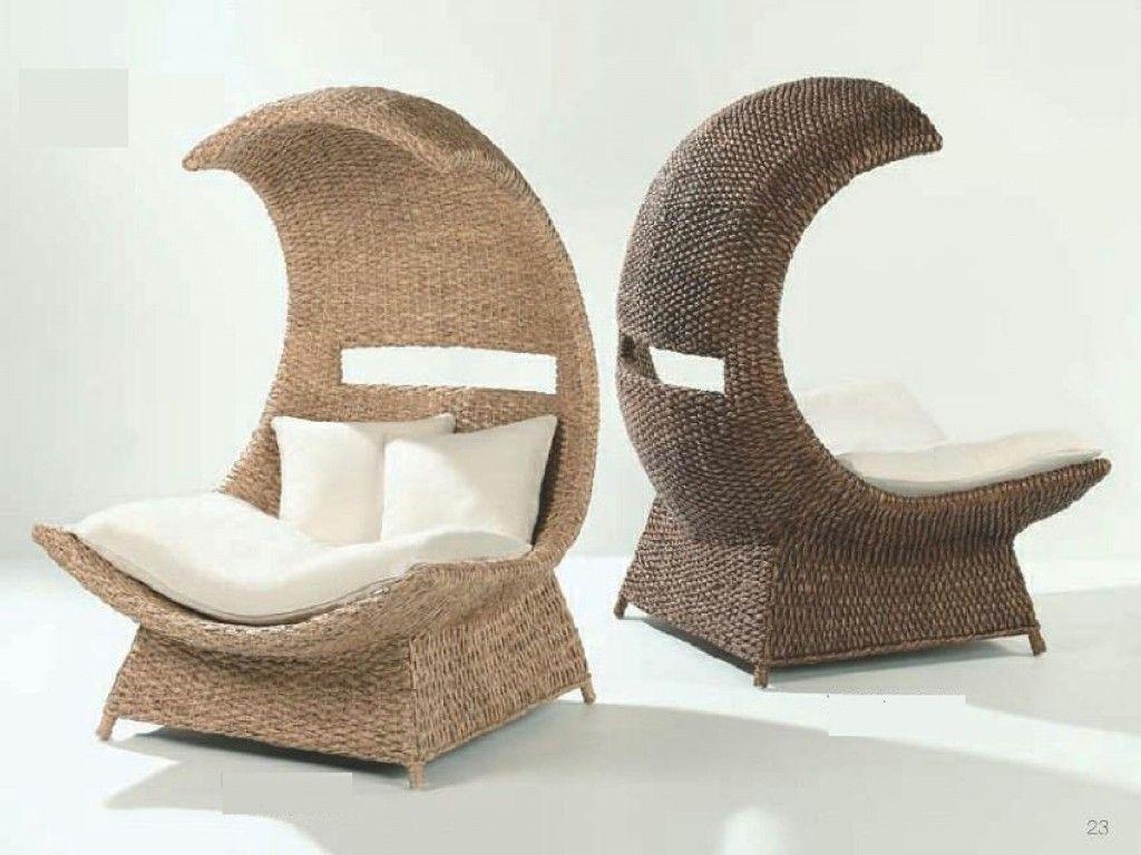 Beau Half Moon Chair