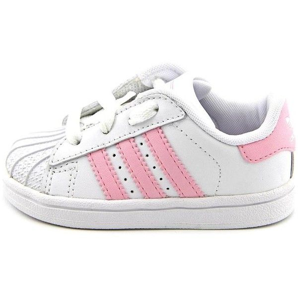 Adidas Superstar 2 Lnf Toddler Girls Size 6 White Sneakers Shoes... ❤ liked