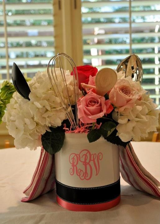 kitchen shower centerpiece kitchen shower decorations bridal shower decorations wedding decorations bridal shower