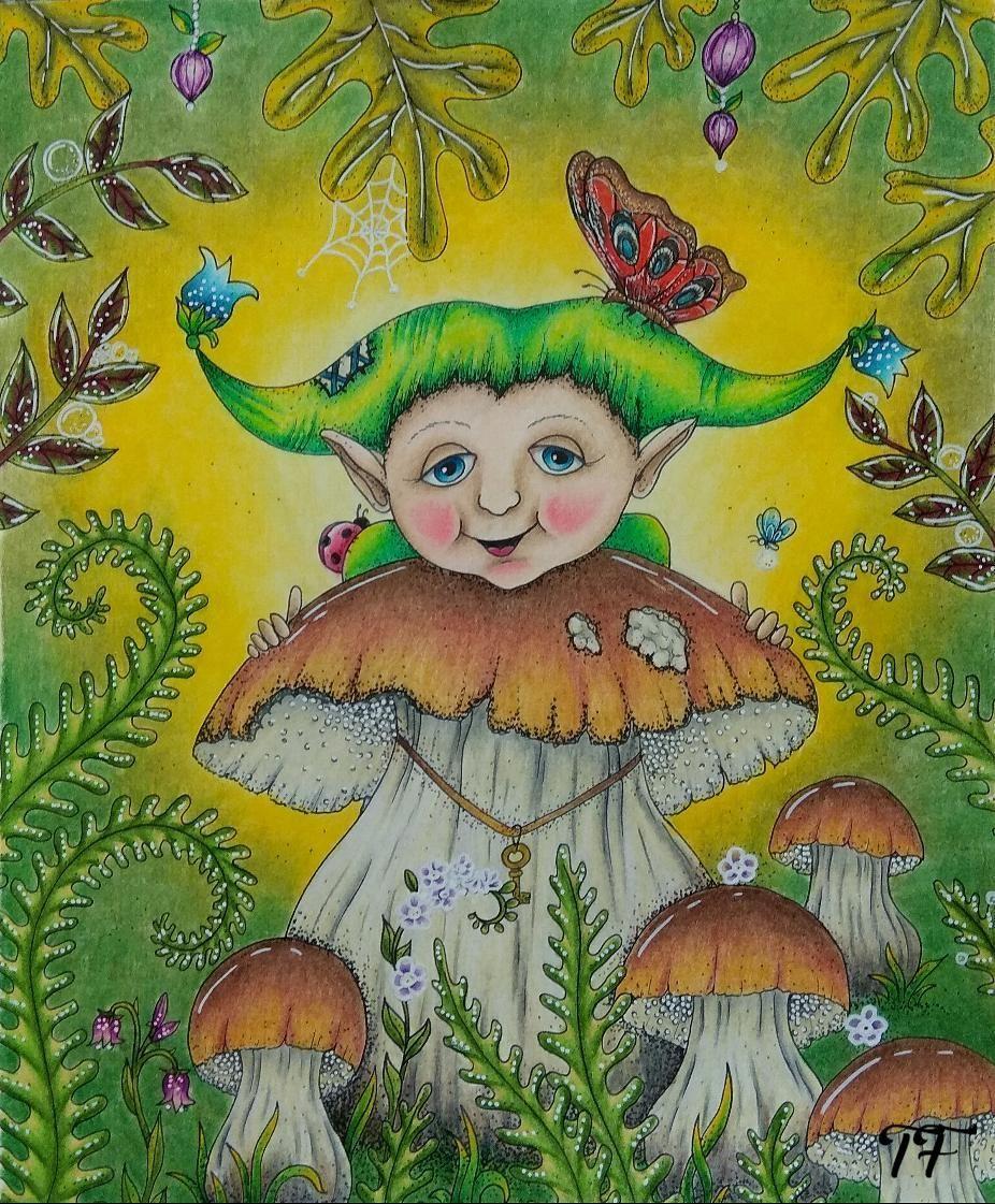 Elf number 1 #carovnelahodnosti #klaramarkova #magicaldelights ...