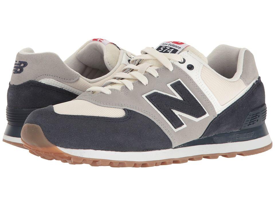 best loved 934fc a8ceb NEW BALANCE NEW BALANCE - ML574 - RETRO SPORT (NAVY SILVER MINK) MEN S SHOES.   newbalance  shoes