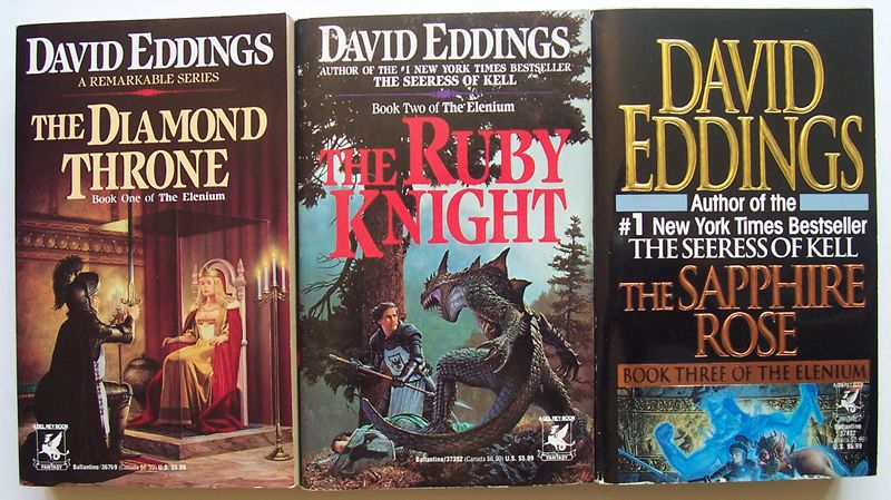 Afbeeldingsresultaat voor Elenium series covers david eddings