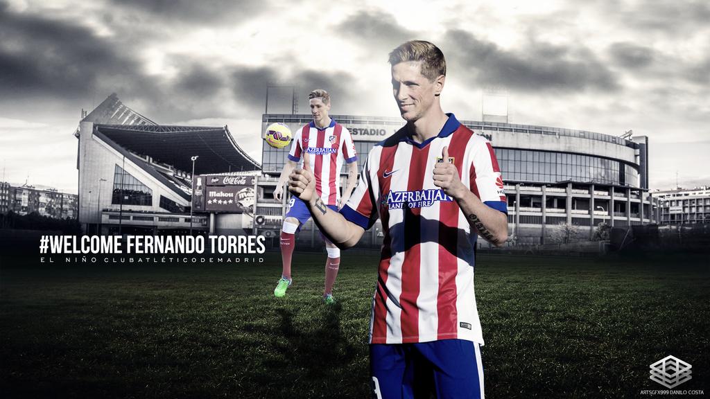 Fernando Torres Desktop Wallpaper