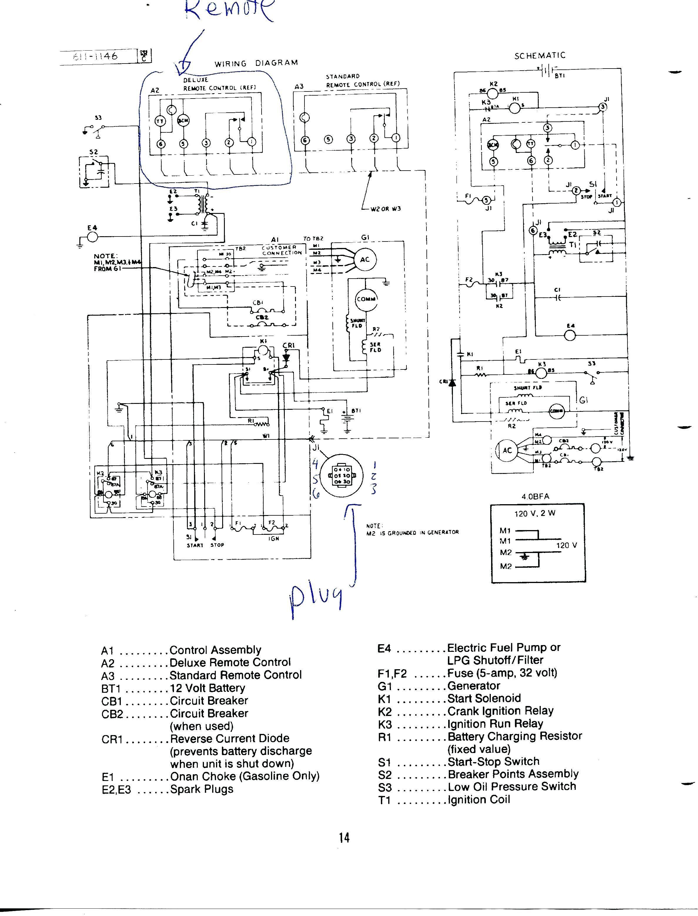 Wiring Diagram Generator Set