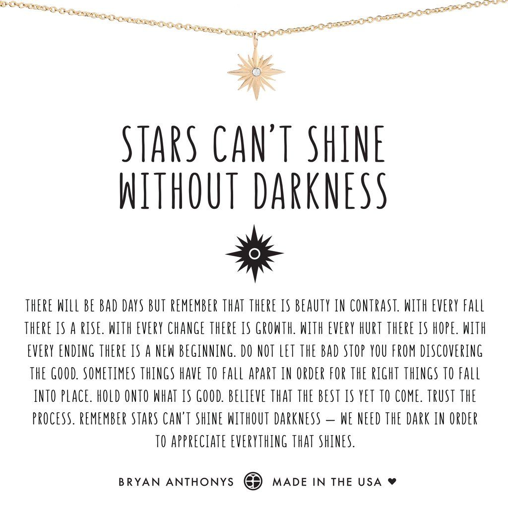 Bryan Anthonys Dainty Stars Cant Shine Without Darkness